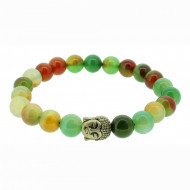 Silverart Buddha Armband 107860 FAB020 Achat grün orange Metal nickelfrei versilbert