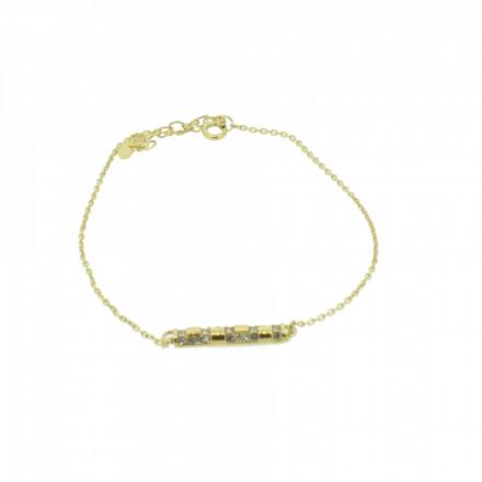 Grey Armband 107491 GAB015 Gold Edelstahl gold
