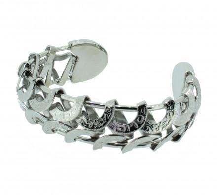 POLICE Herren Armband PJ20705BSS-01 Edelstahl silber
