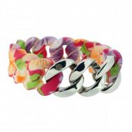 HANSE-KLUNKER ORIGINAL Damen Armband 107405 Edelstahl hawaii silber