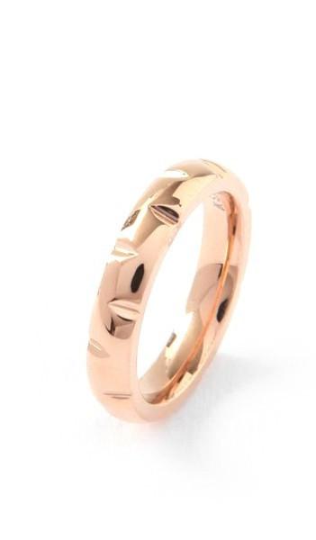 Grey Ring 100046 Edelstahl rosegold