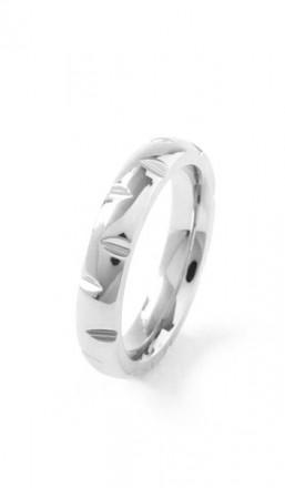 Grey Ring 100570 Edelstahl silber