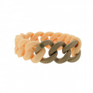HANSE-KLUNKER ORIGINAL Damen Armband 107794 Edelstahl rosenude rosegold sandgestrahlt
