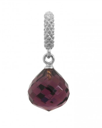 Endless JLo Charm Mysterious Drop Amethyst Crystal 1301-1 lila