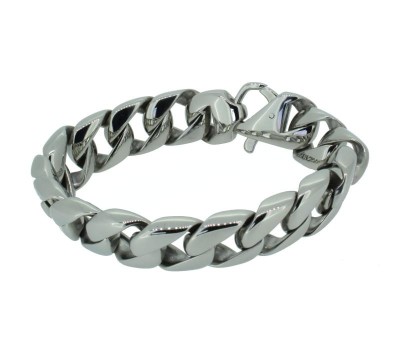 Grey Armband GAB005 Edelstahl silber