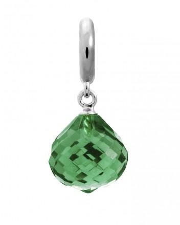 Endless JLo Charm Love Drop Emerald Crystal 1351-5 grün