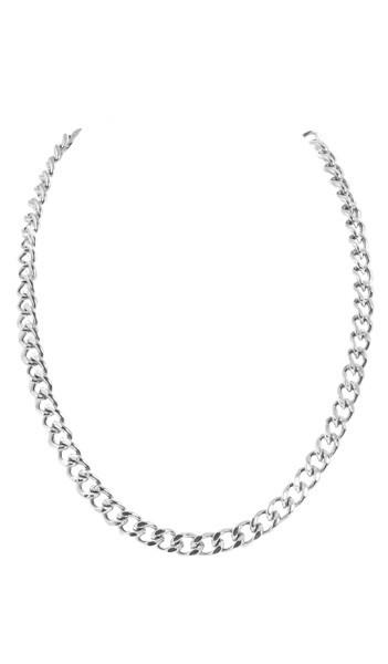 Grey Kette GKT011-55 Steel Edelstahl silber