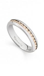Tamaris Ring Daisy 100537 Edelstahl Zirkonia silber braun