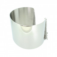 Grey Armreif GAR003-Gr.2 Edelstahl silber