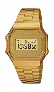 CASIO Retro Digitaluhr A168WG-9BWEF gold