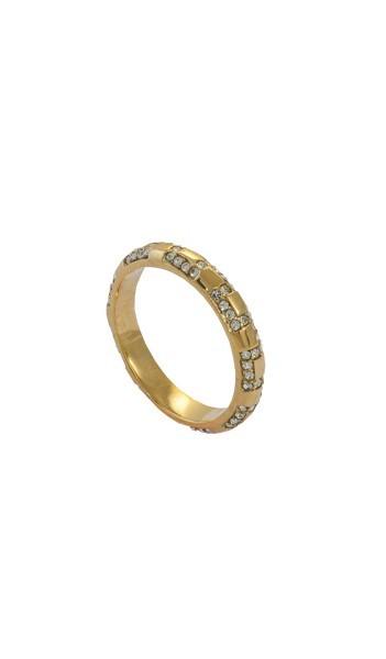 Grey Ring GR009 gold Edelstahl gold
