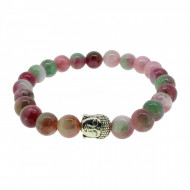 Silverart Buddha Armband 107873 FAB007 Achat rosa grün Metal nickelfrei versilbert
