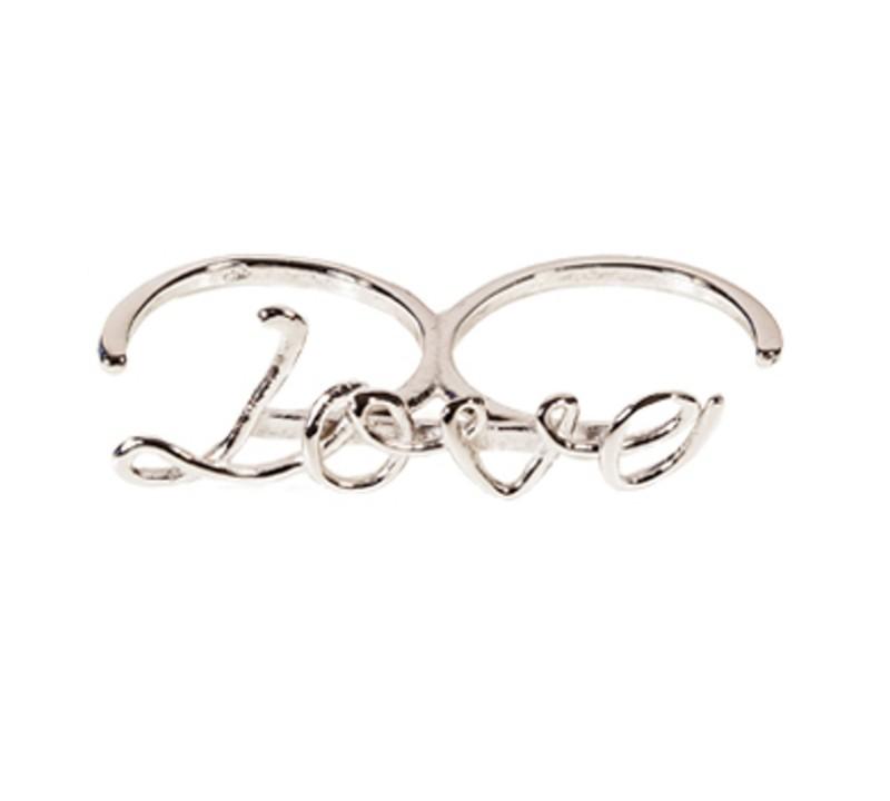SilverArt Collection Ring Love SR001-SR Silber rhodiniert silber