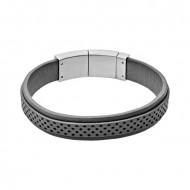 SKAGEN Armband VINTHER SKJM0029040 Leder grau