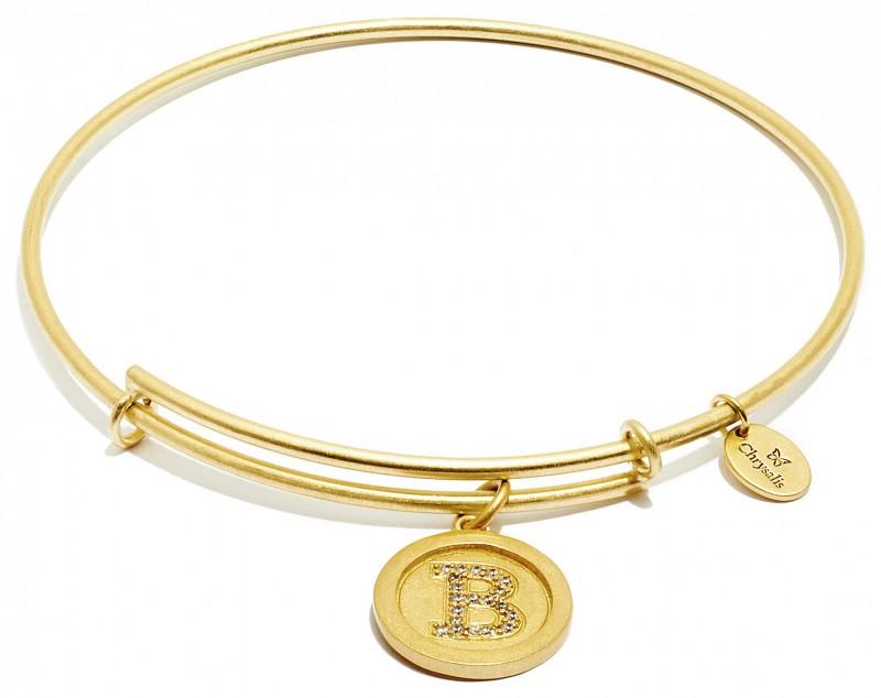 Chrysalis Armreif INITIAL B CRBT05BGP gold