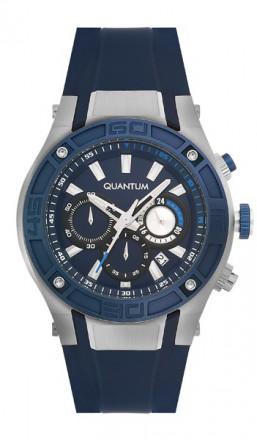 Quantum Herrenuhr Powertech PWG374.399 blau