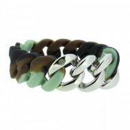 HANSE-KLUNKER ORIGINAL Damen Armband 106784 Edelstahl camouflage silber