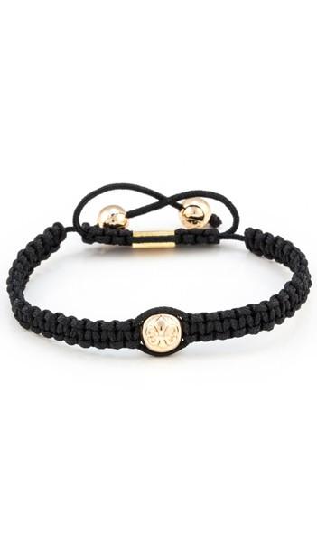 MARC SWAN Armband Shamballa Style 106480 schwarz gold
