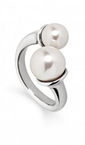 Tamaris Ring Sabina 100346 Edelstahl Perle silber