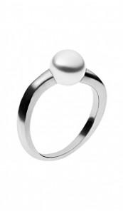 SKAGEN Ring AGNETHE SKJ0293040 silber weiss
