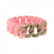 HANSE-KLUNKER ORIGINAL Damen Armband 107943 Edelstahl lachs rosegold sandgestrahlt