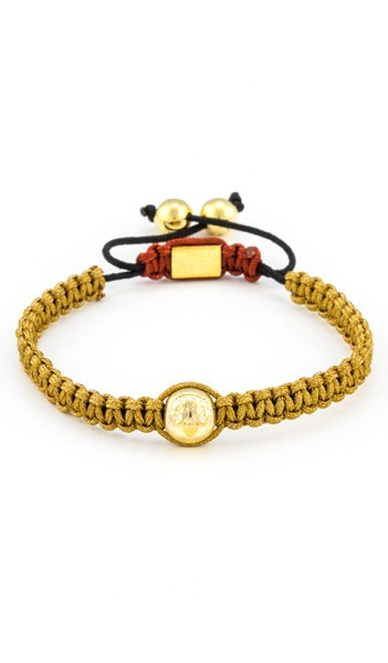 MARC SWAN Armband Shamballa Style 106478 braun