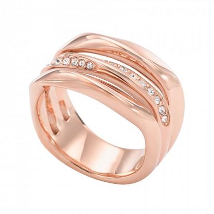 FOSSIL Ring CLASSICS JF01321791-6.5 Edelstahl roségold