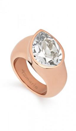 Tamaris Ring Amy 100485 Edelstahl Swarovski rosegold