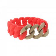 HANSE-KLUNKER ORIGINAL Damen Armband 107950 Edelstahl koralle rosegold sandgestrahlt