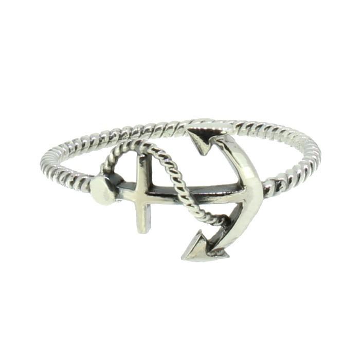 SilverArt Ring Anker 108014 Sterlingsilber silber