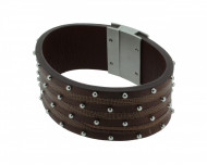 POLICE Herren Armband PJ21872BLC-04-21 Leder braun