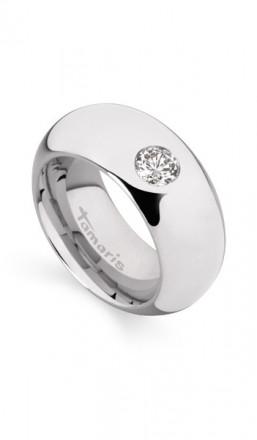 Tamaris Ring Kate 100402 Edelstahl Zirkonia silber