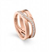 Tamaris Ring Kristina 106831 Edelstahl Zirkonia rosegold