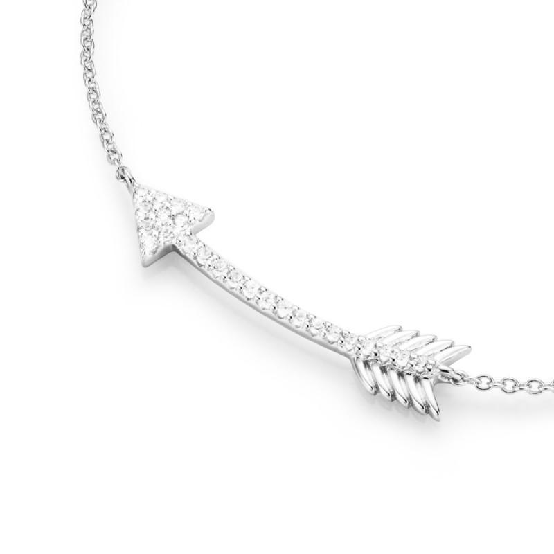 SilverArt Collection Kette Pfeil 99011193450 Sterlingsilber silber