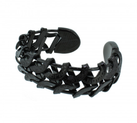 POLICE Herren Armband PJ20705BSB-02 Edelstahl schwarz