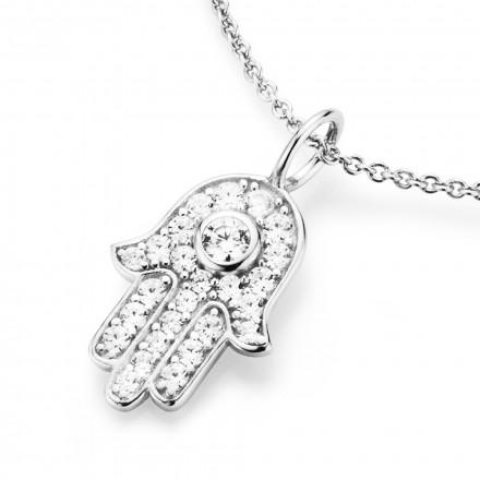 SilverArt Collection Kette Fatimas Hand 99010693450 Sterlingsilber silber