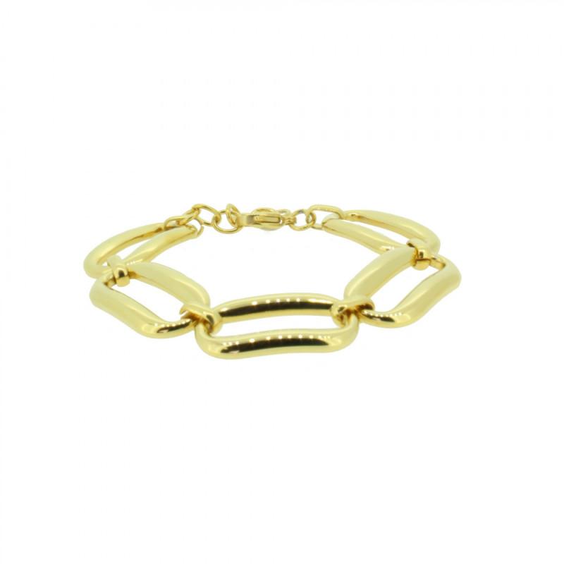 Grey Armband 107493 GAB017 Gold Edelstahl gold