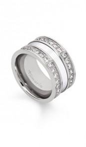 Tamaris Ring Adele 100533 Edelstahl Zirkonia silber weiss