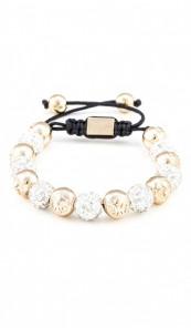 MARC SWAN Armband Shamballa Style 100107 rosegold silber