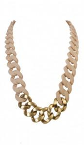 HANSE-KLUNKER Damen Kette 107206 Edelstahl sand gold matt