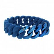 HANSE-KLUNKER ORIGINAL Herren Armband 106979 Edelstahl blau blau