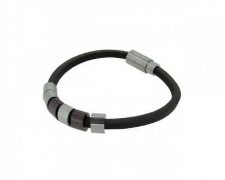 POLICE Herren Armband PJ22653BLC-02-19 Leder braun