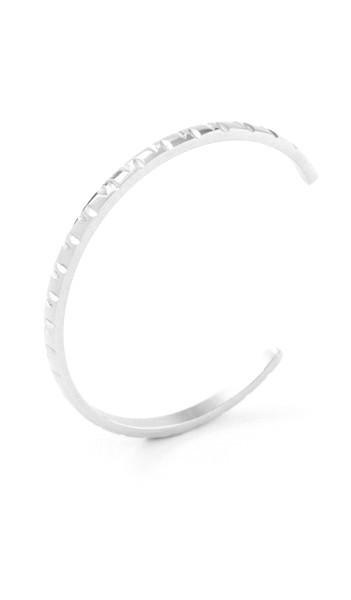 Grey Armreif 100546 Edelstahl silber