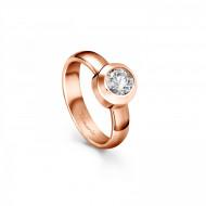 Tamaris Ring Aurora 106927 Edelstahl Zirkonia rosegold