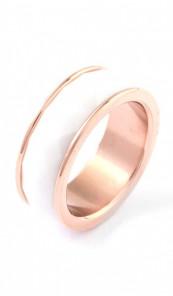 Grey Ring 100550 Edelstahl rosegold