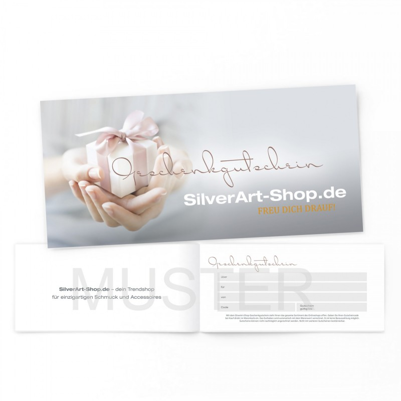 SilverArt Schmuck-Gutschein 110467 - 50€