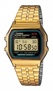 CASIO Retro Digitaluhr A159WGEA-1EF gold