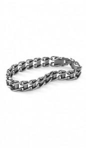 Grey Armband 100539 Edelstahl grau