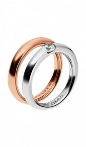 SKAGEN Ring ELIN SKJ0313998 silber rosegold
