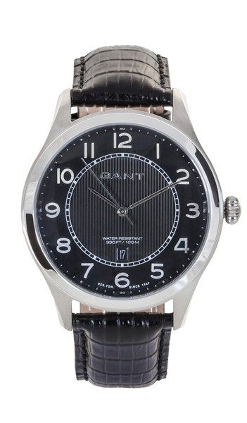 Gant Herrenuhr Hastings W70241 Leder schwarz